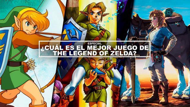 ¿Cuál es el mejor juego de The Legend of Zelda? - TOP 18