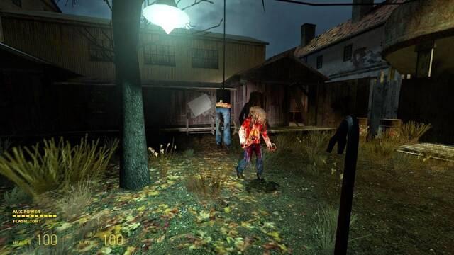 Half-Life 2 Episodio 4 Return to Ravenholm Noclip
