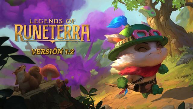 Legends of Runeterra todos los detalles de la v1.2