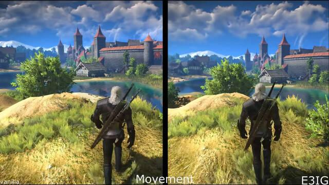 Mod de The Witcher 3 de la demo de E3