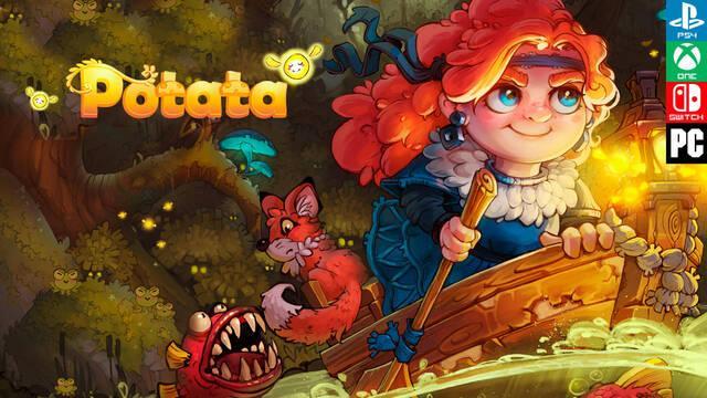 Potata: fairy flower