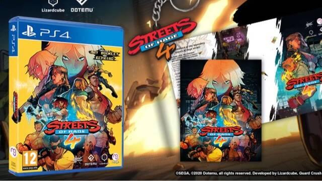 GAME abre las reservas de la edición física de Streets of Rage 4.