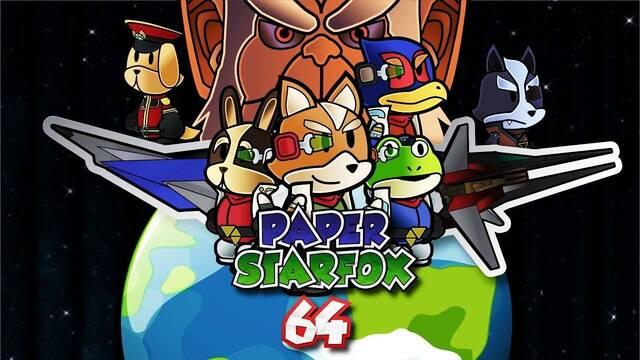 El proyecto fan Paper Star Fox 64