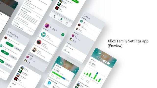 Xbox Family Settings, la app que permite a los adultos gestionar la actividad de juego de los menores.
