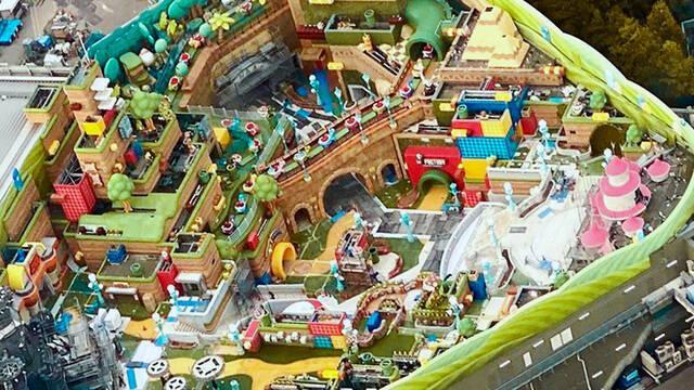 Super Nintendo World parque de Nintendo y Universal