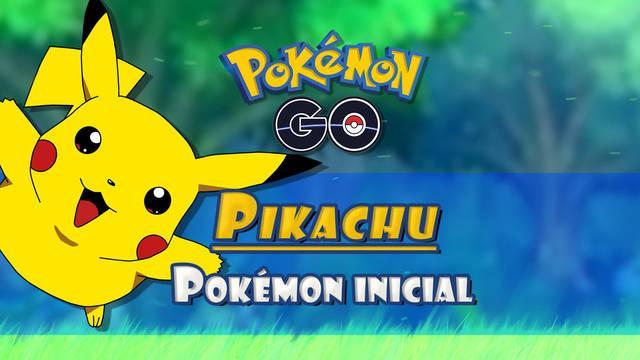 Cómo conseguir a Pikachu de Pokémon inicial en Pokémon Go