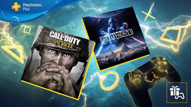 Juegos PS Plus de junio: Star Wars Battlefront 2 y Call of Duty: WWII.