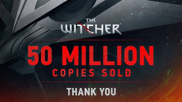 50 millones de The Witcher