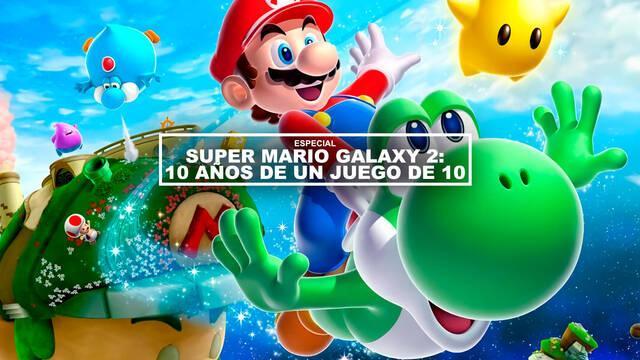 Super Mario Galaxy 2: 10 años de un juego de 10