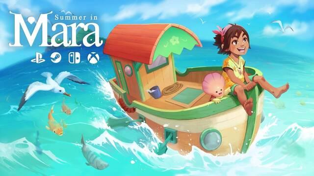 Summer in Mara debutará el 16 de junio en PC y Switch.