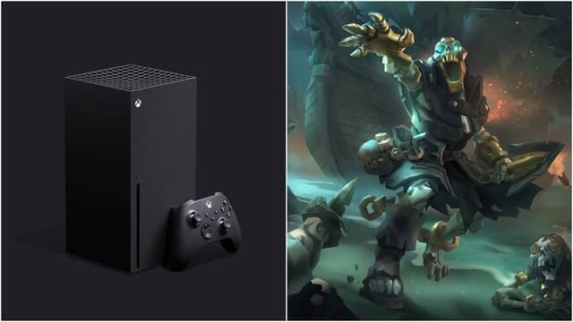 Sea of Thieves se está optimizando para Xbox Series X.