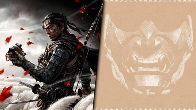 Ghost of Tsushima y su carátula reversible