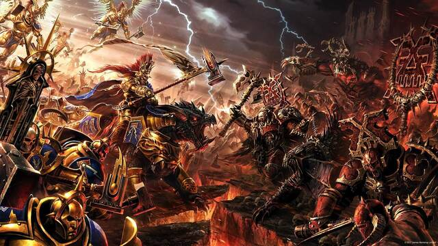 Warhammer Age of Sigmar RTS Frontier