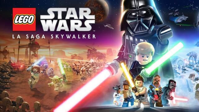 Se desvela el key art de LEGO Star Wars: The Skywalker Saga.