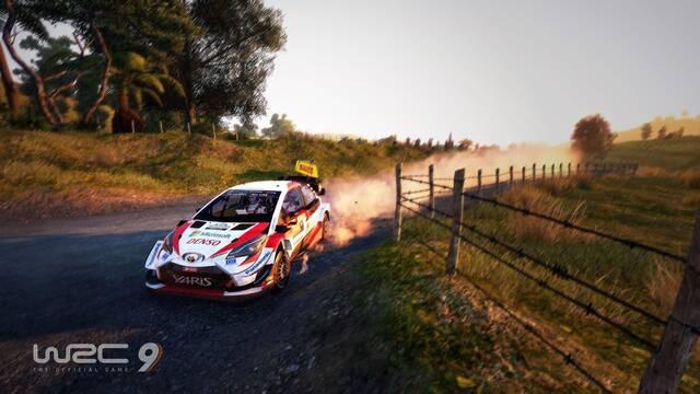 WRC 9 muestra por primera vez su jugabilidad.
