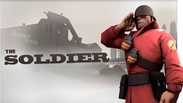 Team Fortress 2 homenajea al actor fallecido del soldado