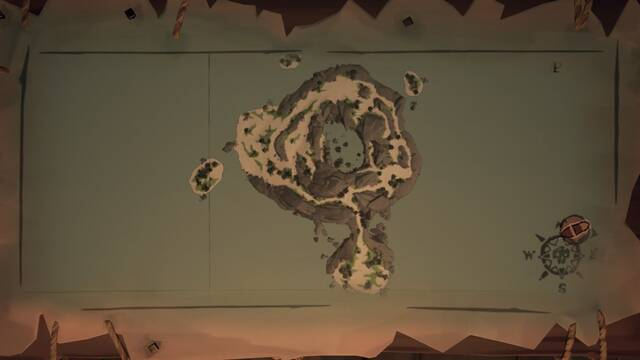 Acertijos de The Sunken Grove en Sea of Thieves: pinturas y localizaciones