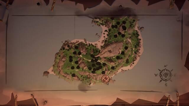 Acertijos de Cannon Cove en Sea of Thieves: pinturas y localizaciones