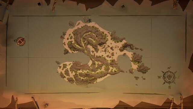 Acertijos de Kraken's Fall en Sea of Thieves: pinturas y localizaciones