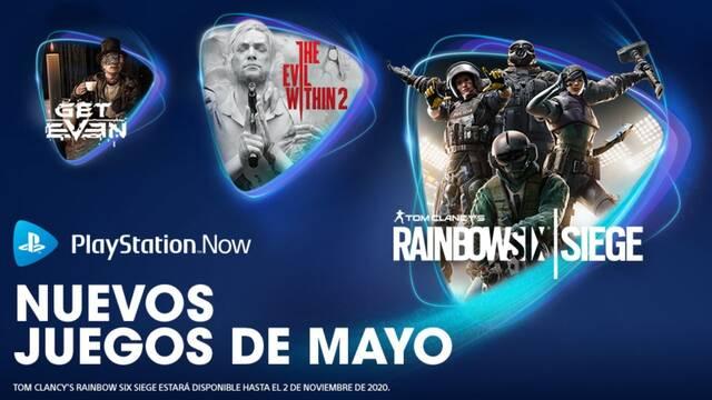 Juegos de PS Now de mayo 2020.