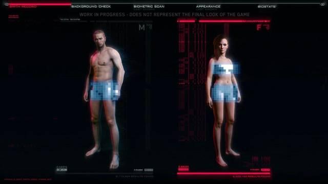 La personalización de Cyberpunk 2077 permitirá modificar los genitales de V.