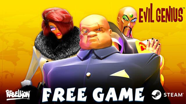 Evil Genius gratis en Steam.