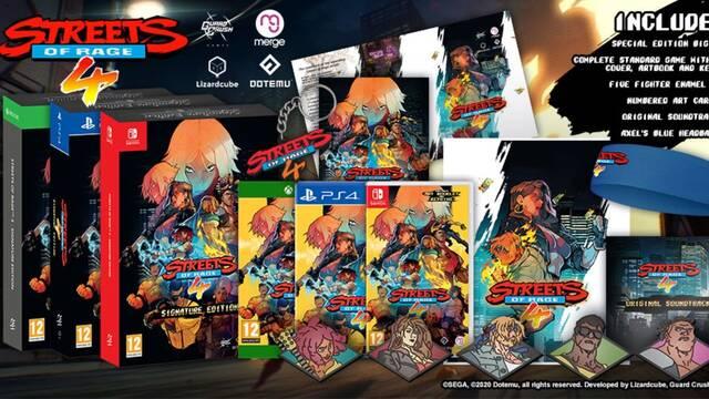 Streets of Rage 4 presenta su edición física, que llegará a España este verano.