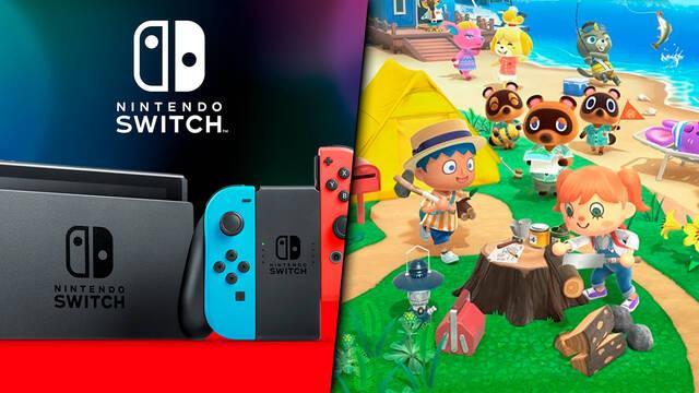 Nintendo Switch ha vendido 55,77 millones de consolas, Animal Crossing: New Horizons 13,41 millones