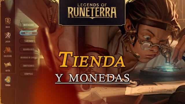 Tienda y monedas de Legends of Runeterra: Todo lo que tienes que saber