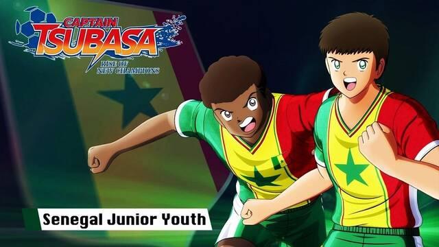 Captain Tsubasa: Rise of New Champions muestra al equipo de Senegal
