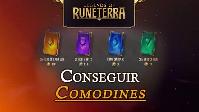 Comodines en Legends of Runeterra: Todos los métodos para conseguirlos gratis