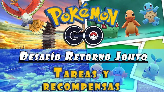 Pokémon Go: cómo completar el desafío de Johto