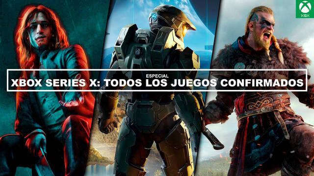 Xbox Series X: TODOS los juegos confirmados (Actualizado)