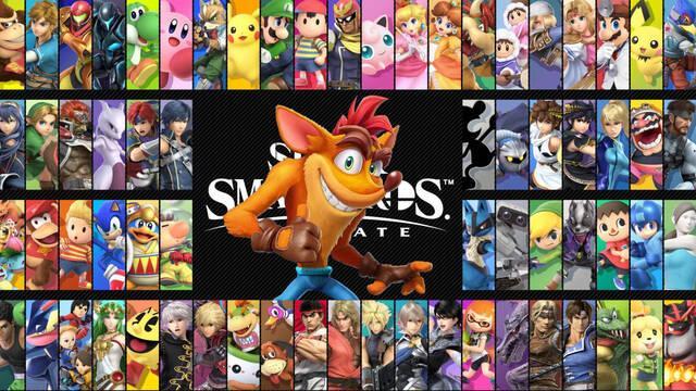 El productor de Crash Bandicoot aún espera su incorporación en Super Smash Bros. Ultimate