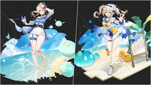 Genshin Impact skins personajes Barbara Jean
