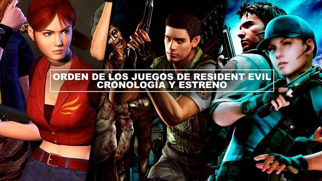 Orden de los juegos de Resident Evil - Cronología y estreno