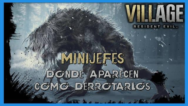 Resident Evil 8 Village: TODOS los minijefes y jefes opcionales
