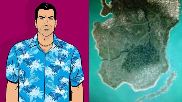 Filtrado el mapa de GTA VI