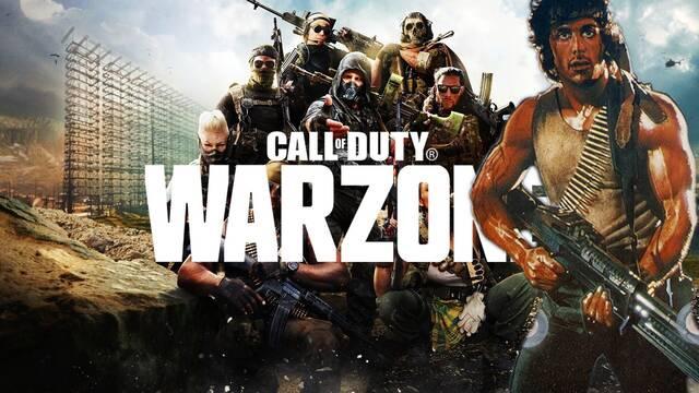 Call of Duty Warzone recibirá la skin de Rambo el 20 de mayo