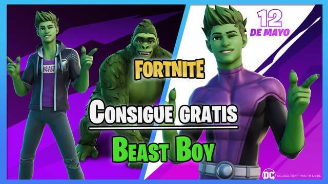 Copa Teen Titans de Fortnite: Consigue gratis a Beast Boy; fechas y cómo participar