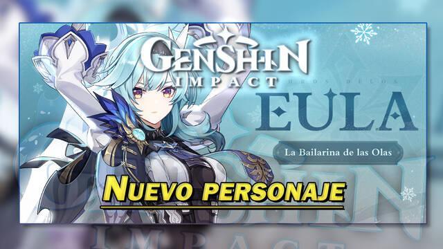 Genshin Impact presenta a Eula; características del nuevo personaje