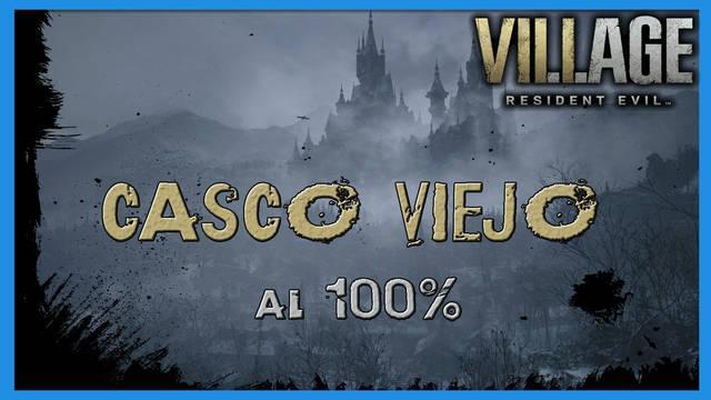 Resident Evil 8 Village: Casco viejo al 100%