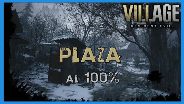 Resident Evil 8 Village: Plaza al 100%
