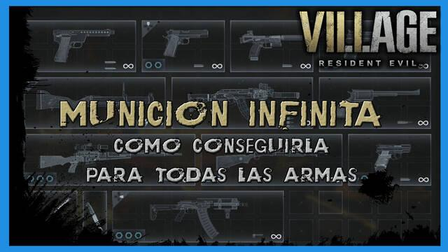 Resident Evil 8 Village: munición infinita - Cómo conseguirla