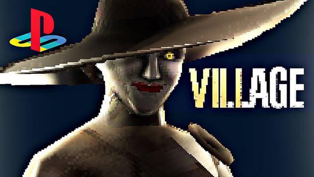 Resident Evil 8: Village recibe un demake al estilo de PlayStation 1