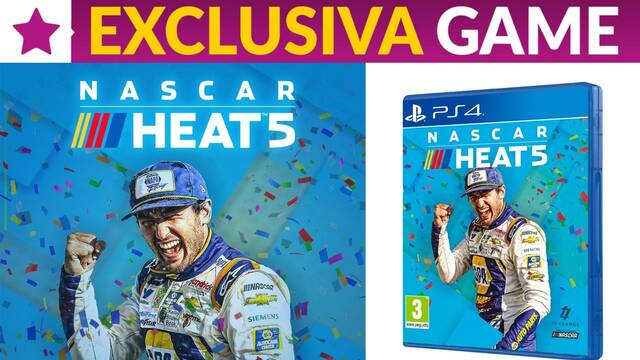 GAME abre las reservas de la edición física de NASCAR Heat 5 para PS4.