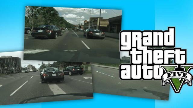 Grand Theft Auto V se vuelve fotorrealista gracias a una IA de Intel.