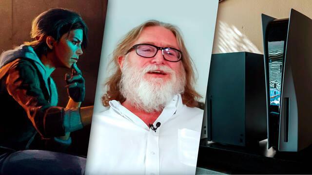 Gabe Newell de Valve insinúa el lanzamiento de sus juegos en consolas