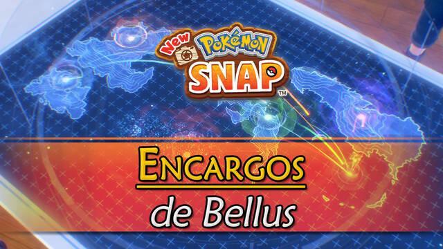 Encargos de Bellus en New Pokémon Snap y cómo completarlos