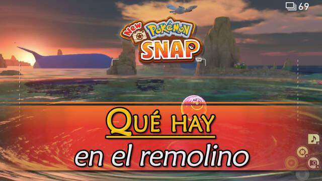 New Pokémon Snap: ¿Qué hay dentro del remolino del Arrecife de Miriadis?